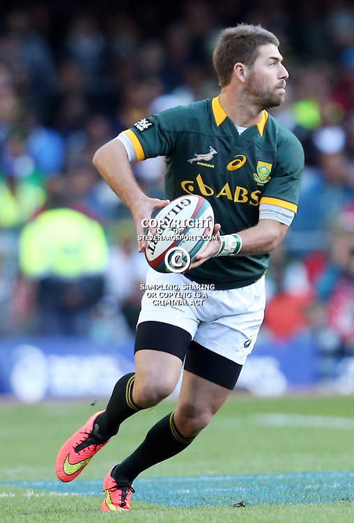 CAPE TOWN, SOUTH AFRICA - SEPTEMBER 27: Willie le Roux of South Africa during The Castle Rugby Championship match between South Africa and Australia at DHL Newlands on September 27, 2014 in Cape Town, South Africa. (Photo by Steve Haag/Gallo Images)