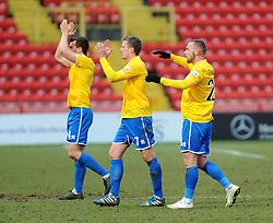 Bristol Rovers - Photo mandatory by-line: Neil Brookman/JMP - Mobile: 07966 386802 - 28/02/2015 - SPORT - Football - Gateshead - Gateshead International Stadium - Gateshead v Bristol Rovers - Vanarama Football Conference