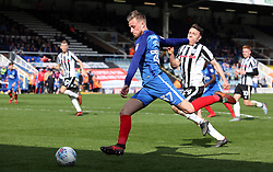 George Cooper of Peterborough United gets set to shoot at goal against Rochdale - Mandatory by-line: Joe Dent/JMP - 14/04/2018 - FOOTBALL - ABAX Stadium - Peterborough, England - Peterborough United v Rochdale - Sky Bet League One