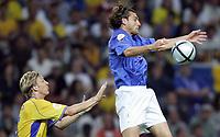 Fotball<br /> Euro 2004<br /> 18.06.2004<br /> Sverige v Italia 1-1<br /> Foto: Omega/SBI/Digitalsport<br /> NORWAY ONLY<br /> <br /> CHRISTIAN VIERI
