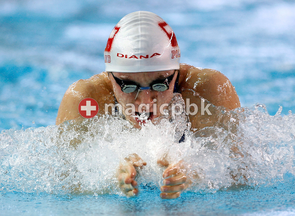Slawomir WOLNIAK of Poland competes in the heats of the men's 100m Breaststroke, during the European Swimming Short Course Championships on December 8, 2005, in Trieste, Italy. (Photo by Patrick B. Kraemer/MAGICPBK)
