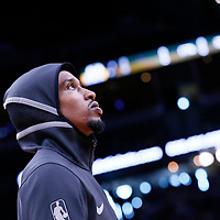 01 April 2018: Milwaukee Bucks guard Brandon Jennings (11) is seen during the Denver Nuggets 128-125 victory over the Milwaukee Bucks, at the Pepsi Center, Denver, Colorado, USA.