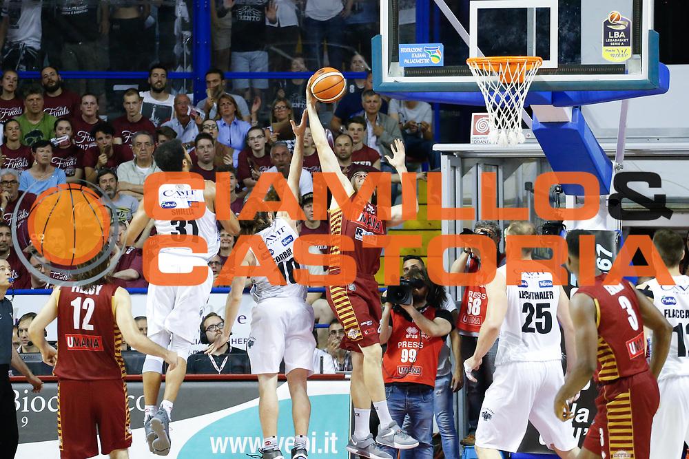 Jeff Viggiano<br /> Umana Reyer Venezia - Dolomiti Energia Aquila Basket Trento<br /> Lega Basket Serie A 2016/17 Finali Gara 01<br /> Venezia, 10/06/2017<br /> Foto Ciamillo-Castoria / M. Brondi