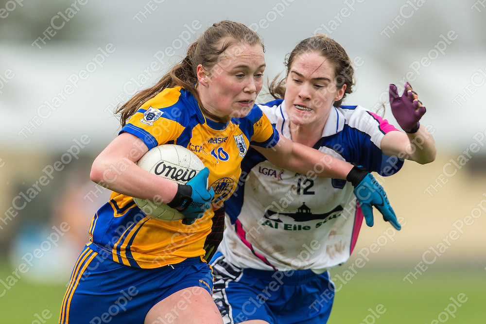 Clare's Lizzy Roach V Waterford's Emma Murray