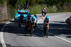 Astana Women's Team at Giro Rosa 2018 - Stage 1, a 15.5 km team time trial in Verbania, Italy on July 6, 2018. Photo by Sean Robinson/velofocus.com