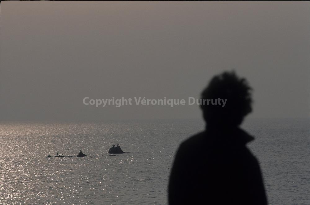 FACING THE YELLOW SEA,  YEONGJIONG ISLAND, SOUTH KOREA