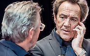 Robert Lindsay filming Sixty Six BBC documentary