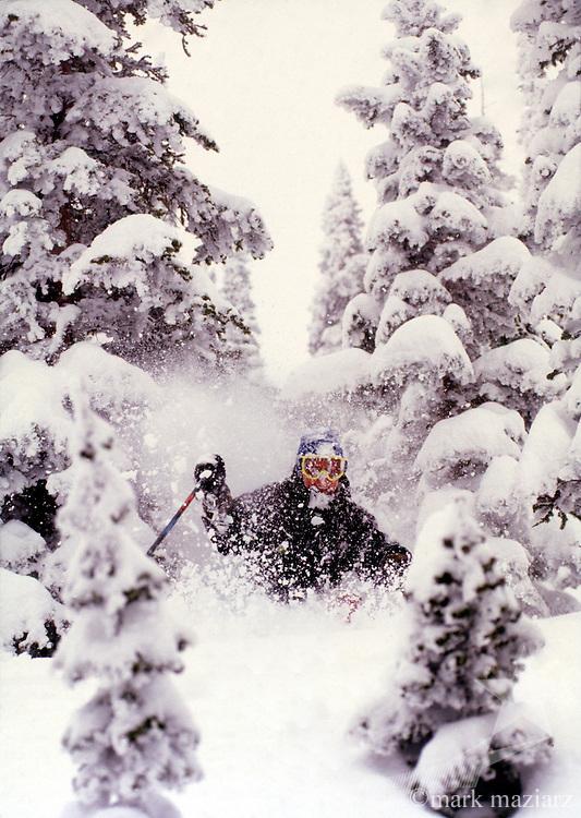 snow storm @ The Canyons, Utah, USA