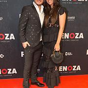NLD/Amsterdam/20191118 - Filmpremiere Penoza: The Final Chapter, Danny Froger en partner Ann-Dominique Wilten