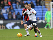 Barry Bannan during before the Sky Bet Championship match between Bolton Wanderers and Brighton and Hove Albion at the Reebok Stadium, Bolton, England on 28 February 2015.