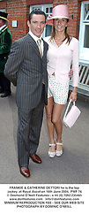 FRANKIE & CATHERINE DETTORI he is the top jockey, at Royal Ascot on 16th June 2004.PWF 76