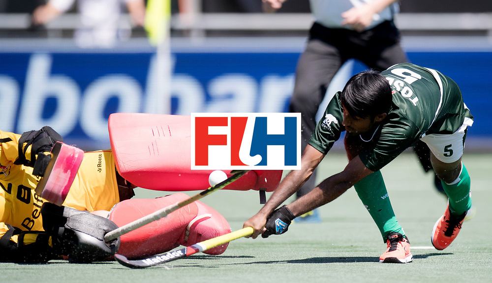 BREDA - Rabobank Hockey Champions Trophy<br /> 5th/6th place Belgium - Pakistan<br /> Belgium wins after shoot out.<br /> Photo: ARSHAD Toseeq.<br /> COPYRIGHT WORLDSPORTPICS FRANK UIJLENBROEK