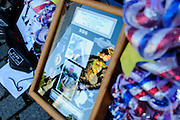 "Some of the memorabilia left by visitors at the Vietnam Veterans Memorial in Washington, DC, USA on 26 May, 2013. Memorial Day weekend celebrations include Rolling Thunder's annual Memorial Day weekend ""Ride To The Wall"", converging on the Vietnam Veterans Memorial. Rolling Thunder Inc. is a non-profit organization dedicated to the search of American soldiers who are prisoners of war or missing in action. Rolling Thunder was established in 1987."