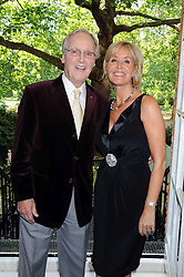 NICHOLAS PARSONS and his daughter SUZY PARSONS at a party to celebrate the publication on 'Unsuitable' by Suzy Parsons held at St.Stephen's Club, 34 Queen Anne's Gate, London SW1 on 19th June 2008<br />