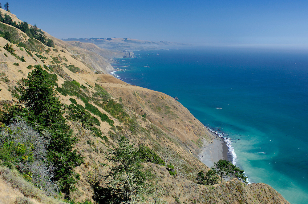 Coast along Highway 1 near Jenner, California, United States of America