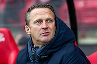 ALKMAAR - 11-12-2016, AZ -  Feyenoord, AFAS Stadion, 0-4, AZ trainer John van den Brom.
