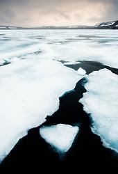Rijpfjorden at Nordaustlandet, Svalbard