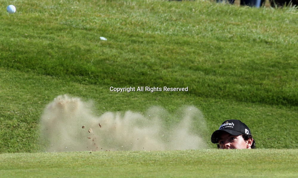 22.07.12 Lytham & St Annes, England. Northern Ireland's Rory McIlroy in action during the fourth and final round of The Open Golf Championship from the Royal Lytham & St Annes course in Lancashire