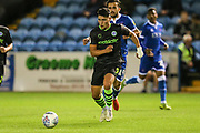 Forest Green Rovers Matty Stevens(9) runs forward during the EFL Sky Bet League 2 match between Carlisle United and Forest Green Rovers at Brunton Park, Carlisle, England on 17 September 2019.