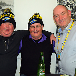 Hurricanes fans prepare for the Super Rugby final match between the Hurricanes and Lions at Westpac Stadium, Wellington, New Zealand on Saturday, 6 August 2016. Photo: Dave Lintott / lintottphoto.co.nz