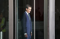 © Licensed to London News Pictures. 22/11/2015. London, UK. Chancellor of the Exchequer George Osborne leaves Broadcasting House before after his appearance on the Andrew Marr Show. Photo credit: Peter Macdiarmid/LNP