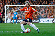 Scott Griffiths of Luton Town during the Sky Bet League 2 match at Kenilworth Road, Luton<br /> Picture by David Horn/Focus Images Ltd +44 7545 970036<br /> 25/10/2014