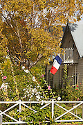 French colonial influence is still evident throughout Akaroa, New Zealand