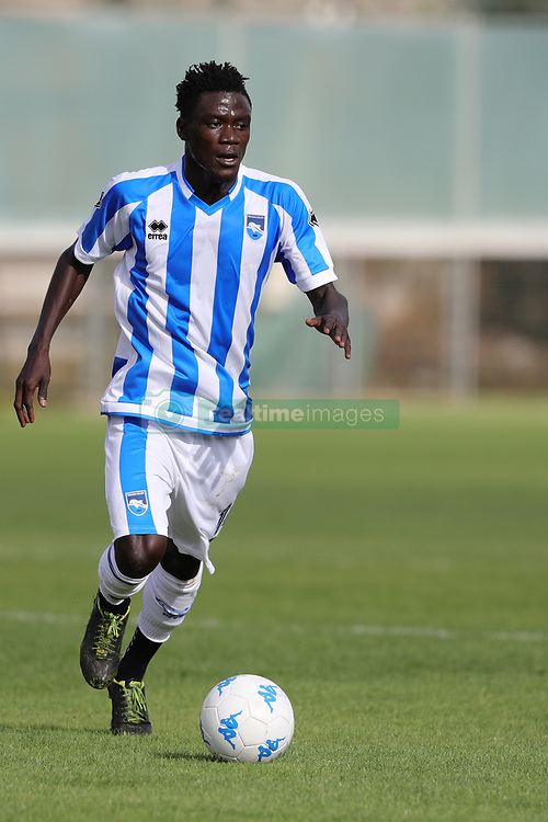 July 25, 2017 - Avezzano, AQ, Italy - Ransford Selasi of Pescara Calcio 1936 in action during the Pre-Season 2017/2018 Friendly Match Pescara Calcio 1936 v Teramo Calcio 1913, at Dei Marsi Stadium on July 25, 2017 in Avezzano, Italy  (Credit Image: © Danilo Di Giovanni/NurPhoto via ZUMA Press)
