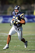 Linebacker Ben Leber during workouts at the San Diego Chargers summer training camp at the Home Depot National Training Center in Carson, CA on 08/04/2004. ©Paul Anthony Spinelli
