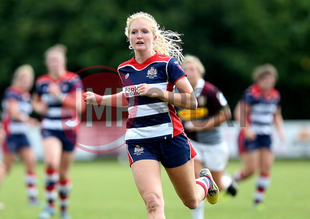 Tilly Vaughan-Fowler of Bristol Ladies - Mandatory by-line: Robbie Stephenson/JMP - 18/09/2016 - RUGBY - Cleve RFC - Bristol, England - Bristol Ladies Rugby v Aylesford Bulls Ladies - RFU Women's Premiership