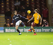 23rd December 2017, Fir Park, Motherwell, Dundee; Scottish Premier League football, Motherwell versus Dundee; Dundee's Jon Aurtenetxe and Motherwell's Richard Tait