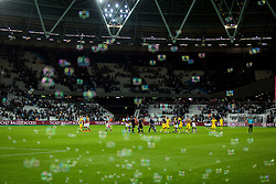 Players after the 2nd Leg football match between West Ham United FC and NK Domzale in 3rd Qualifying Round of UEFA Europa league 2016/17 Qualifications, on August 4, 2016 in London, England.  Photo by Ziga Zupan / Sportida