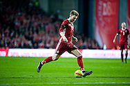17.11.2015. Copenhagen, Denmark. <br /> Niklas Bendtner of Denmark in action during their UEFA EURO 2016 play-off second leg match at the Telia Parken Stadium.Photo: © Ricardo Ramirez.