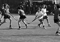 Wesley College Vs Mount Anville at Serpentine Avenue, 13/03/1987 (Part of the Independent Newspapers Ireland/NLI Collection).