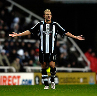 Photo: Jed Wee/Sportsbeat Images.<br /> Newcastle United v Birmingham City. The FA Barclays Premiership. 08/12/2007.<br /> <br /> Newcastle's Alan Smith.