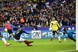 March 23, 2018 - St Denis, France, France - but de Olivier Giroud  (Credit Image: © Panoramic via ZUMA Press)