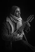 """Mourad Musset par Sylvain Labeste Portraits d'acteurs et de techniciens sur le tournage de """"Nos Vies Formidables"""" de Fabienne Godet. Lumière naturelle. Janvier 2017."""