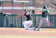 February 20, 2016: The Northwest Missouri State University Bearcats play against the Oklahoma Christian University Eagles at Dobson Field on the campus of Oklahoma Christian University.