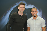 "Goddard Daniel and James Bryton from ""The Young and the Restless"" poses at the photocall during the 55th Festival TV in Monte-Carlo on June 15, 2015 in Monte-Carlo, Monaco."