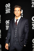 15.NOVEMBER.2012. SANTA FE<br /> <br /> RYAN REYNOLDS AT GQ MEN OF THE YEAR AWARDS IN SANTA FE<br /> <br /> BYLINE: EDBIMAGEARCHIVE.CO.UK<br /> <br /> *THIS IMAGE IS STRICTLY FOR UK NEWSPAPERS AND MAGAZINES ONLY*<br /> *FOR WORLD WIDE SALES AND WEB USE PLEASE CONTACT EDBIMAGEARCHIVE - 0208 954 5968*