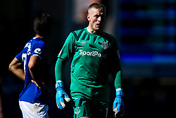 Jordan Pickford of Everton - Mandatory by-line: Robbie Stephenson/JMP - 01/09/2019 - FOOTBALL - Goodison Park - Liverpool, England - Everton v Wolverhampton Wanderers - Premier League