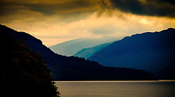 Storm clouds over Loch Lomond at Inversnaid, Scotland<br /> <br /> (c) Andrew Wilson | Edinburgh Elite media