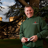 Head Gardener, Toby Beasley, Osborne House, East Cowes, Isle of Wight, England, UK,