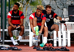 Lloyd Kelly of Bristol City prepares for training - Mandatory by-line: Matt McNulty/JMP - 19/07/2017 - FOOTBALL - Tenerife Top Training Centre - Costa Adeje, Tenerife - Pre-Season Training