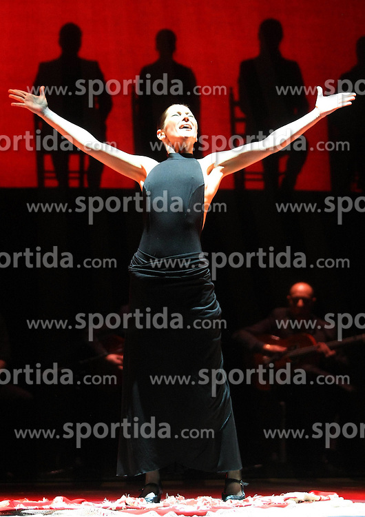 23.03.2010, Madrid, ESP, Spanish flamenco dancer, im Bild  Sara Baras during the presentation of her new show Esencia, EXPA Pictures © 2010, PhotoCredit: EXPA/ Alterphotos/ Acero / SPORTIDA PHOTO AGENCY