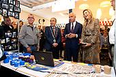 Koningin Maxima bezoekt SW-bedrijf Breed