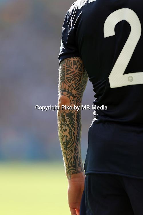 Fifa Soccer World Cup - Brazil 2014 - <br /> FRANCE (FRA) Vs. GERMANY (GER) - Quarter-finals - Estadio do MaracanaRio De Janeiro -- Brazil (BRA) - 04 July 2014 <br /> Here French player Mathieu DEBUCHY<br /> &copy; PikoPress