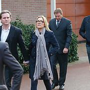 NLD/Drievliet/20130104 - Uitvaart Arend Langeberg, Gallyon van Vessem en partner Greg de Jong