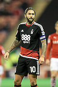 Henri Lansbury (Nottingham Forest) during the EFL Sky Bet Championship match between Barnsley and Nottingham Forest at Oakwell, Barnsley, England on 25 November 2016. Photo by Mark P Doherty.