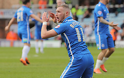 Marcus Maddison of Peterborough United reacts after he feels he should have won a penalty after being fouled - Mandatory by-line: Joe Dent/JMP - 09/04/2016 - FOOTBALL - ABAX Stadium - Peterborough, England - Peterborough United v Rochdale - Sky Bet League One